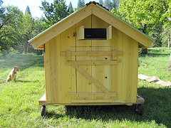 chicken coop mobile