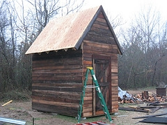 chicken coop used